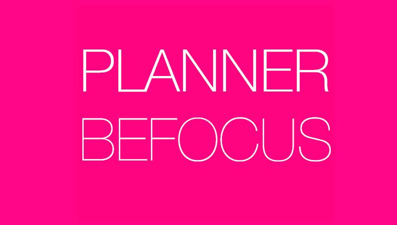 Una herramienta para mejorar tu productividad de manera inmediata: La agenda Befocus.